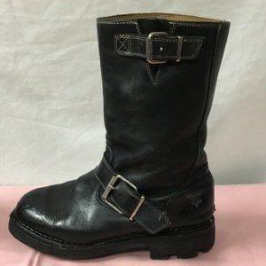 John Fluevog Biker Boots Lug sole 5
